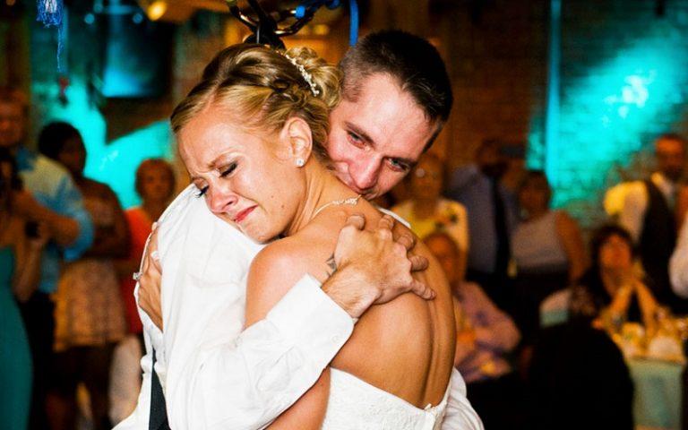 emotional first dance
