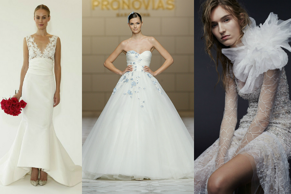 2015 bridal catwalk trends