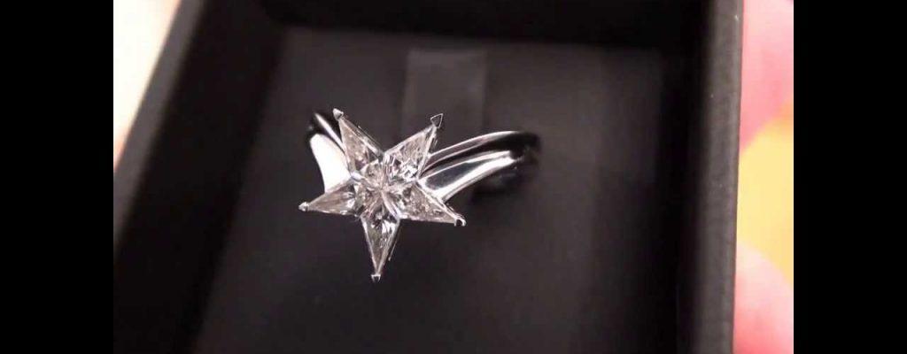 star engagement ring