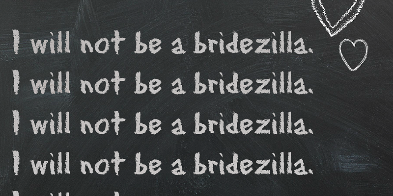 bridezilla chalkboard