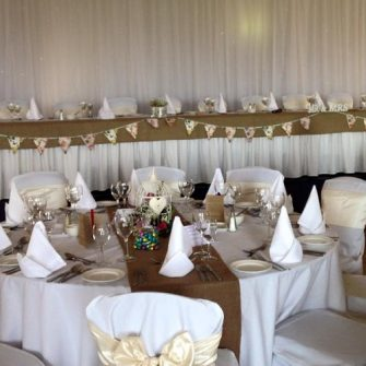 wow weddings decorated room