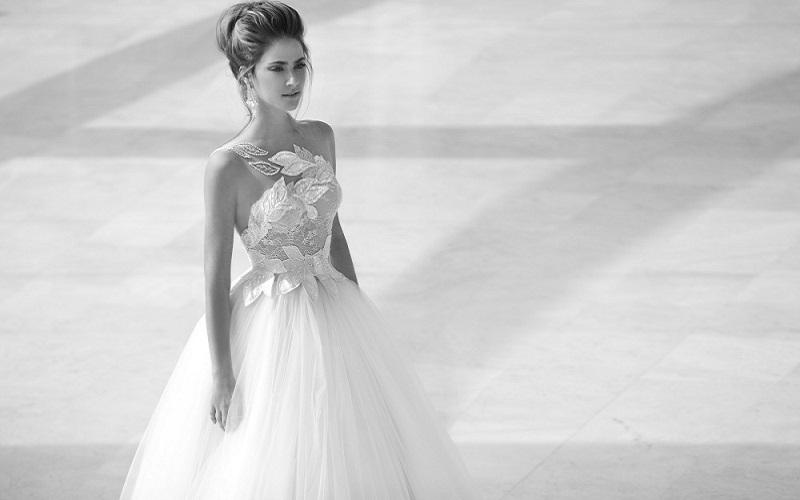 one shoulder wedding dress aliexpress