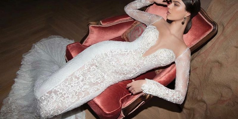 mermaid bridal dress