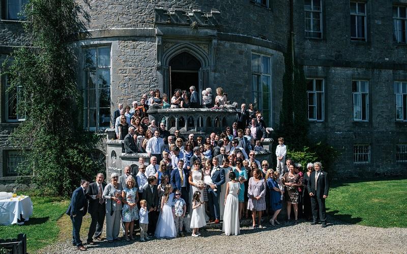 group wedding photo