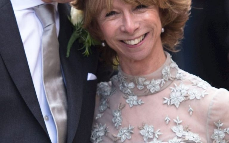 Helen Worth silver wedding dress