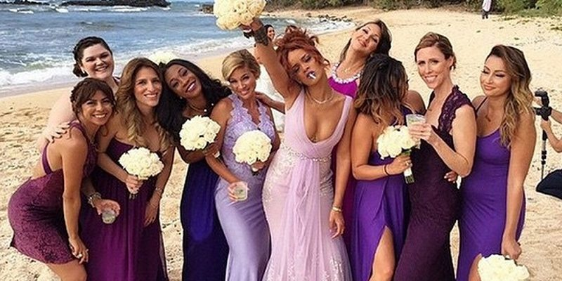 rihanna bridesmaid