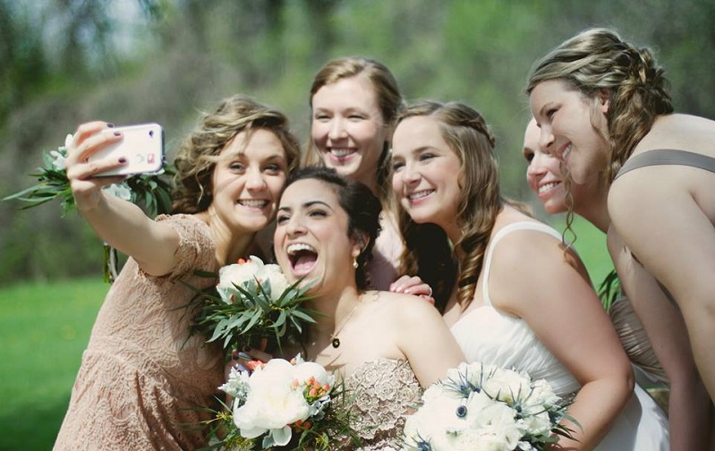 Wedding-day-selfies