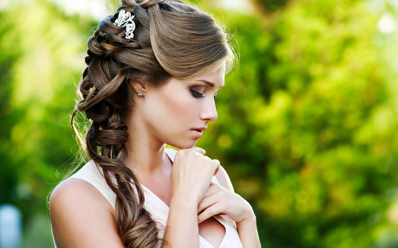 Wedding Highs And Lows Bridal Hairstyle Guide