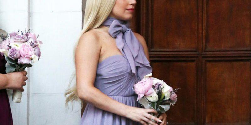 lady gaga bridesmaid