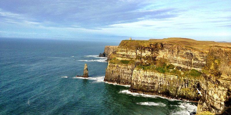 irish cliff