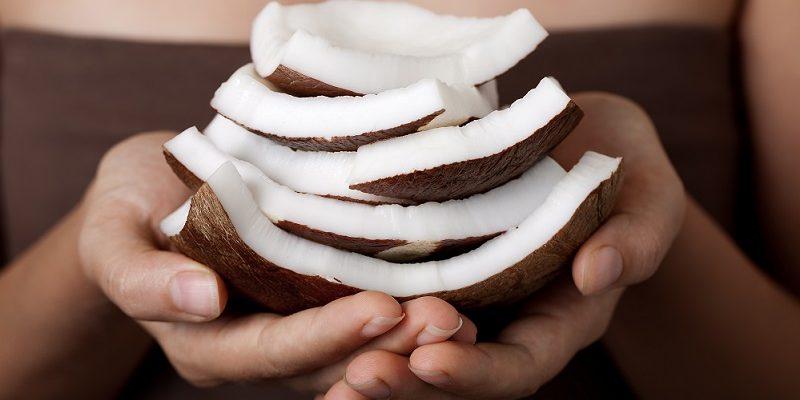 raw coconut