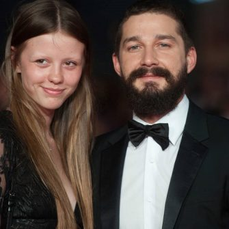 mia goth and shia lebeouf