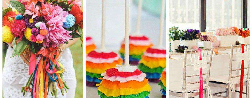 Rainbow wedding ideas feature
