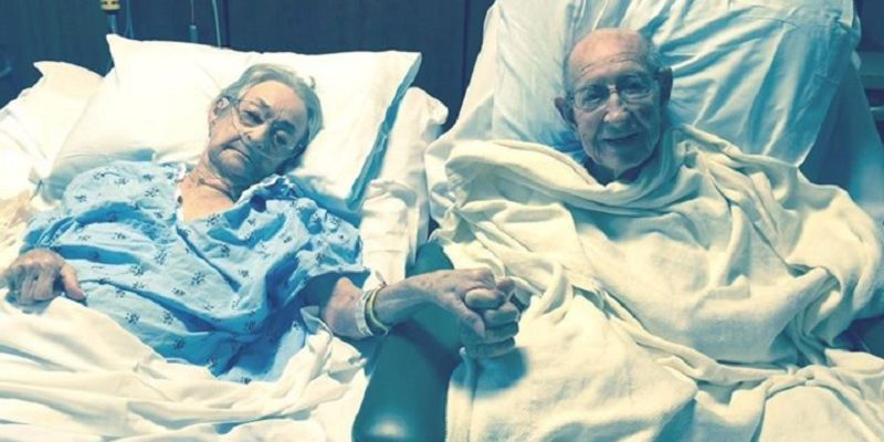 Hospital break rules to put couple married 68 years together