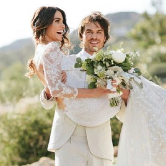 Vampire Diaries' star Ian Somerhalder & Nikki Reed's wedding