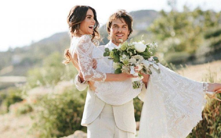 Vampire Diaries' star Ian Somerhalder & Nikki Reed's wedding