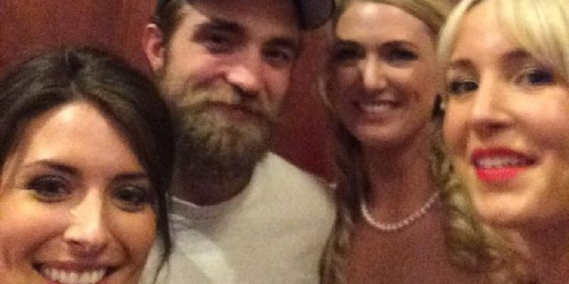 Robert Pattinson and Danny O'Donoghue crash wedding