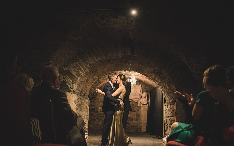 Crypt christchurch dublin wedding