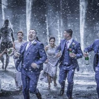 Game of Thrones themed wedding photo goes viral