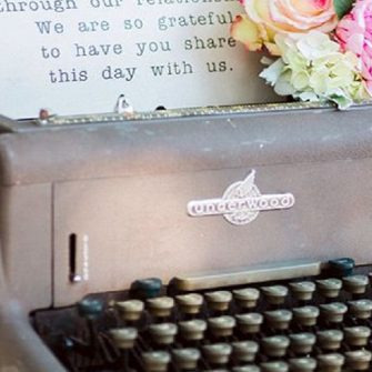 Twelve props to transform your wedding venue