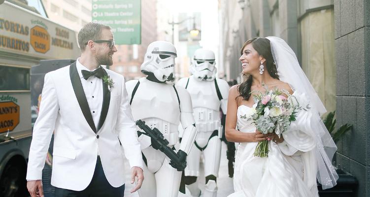 intergalactic wedding inspiration