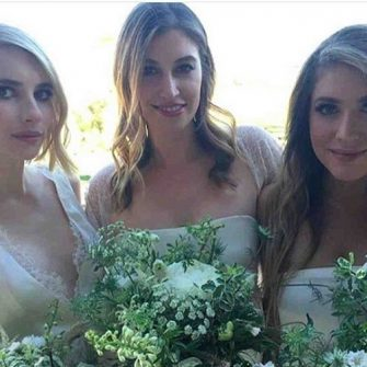 emma roberts bridesmaid