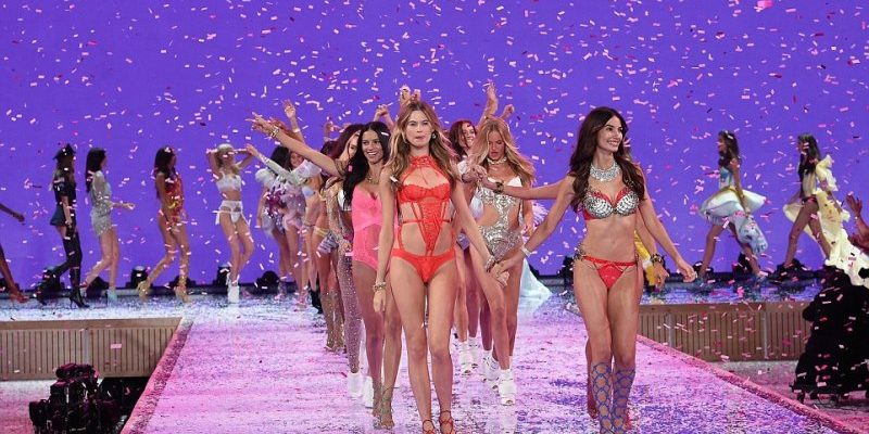 Wedding night inspiration from the victoria's secret catwalk