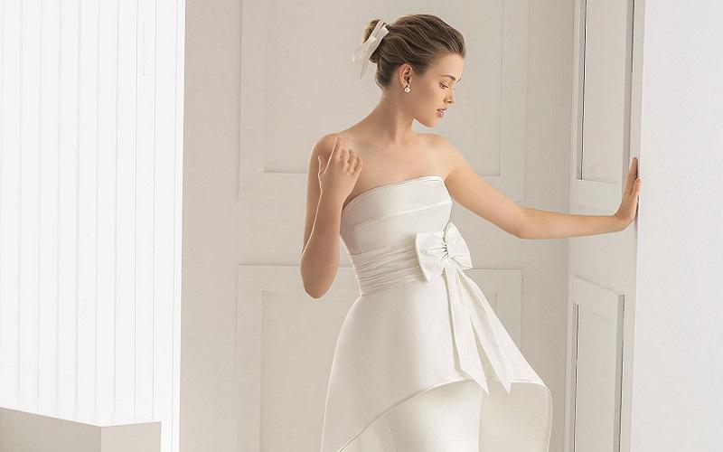 bedd810cb93b8 Best Peplum Wedding Dresses to Flatter Your Figure | Wedding Journal