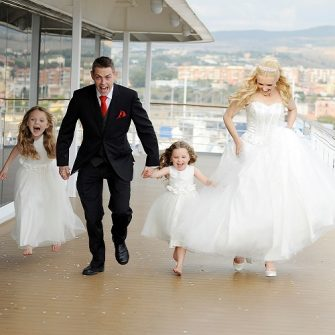 Markers of Don't Tell the Bride appeal for couples for new show