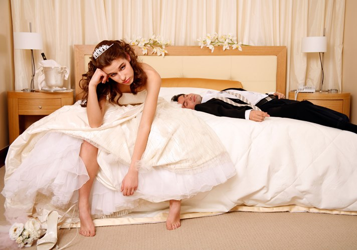 what happens on your wedding night