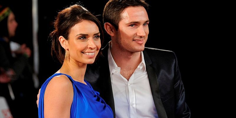 It's a Christmas wedding for Frank Lampard and Christine Bleakley