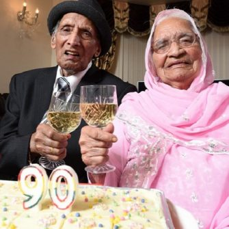World's oldest married couple celebrate 90th wedding anniversary