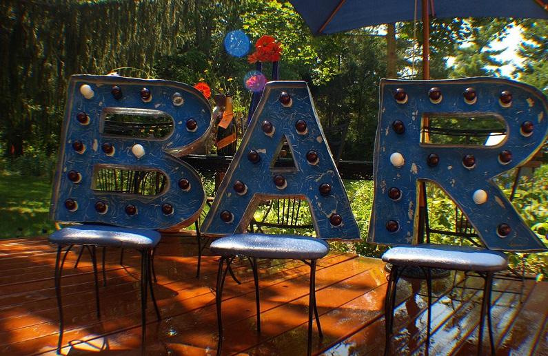 pop-up bars wedding