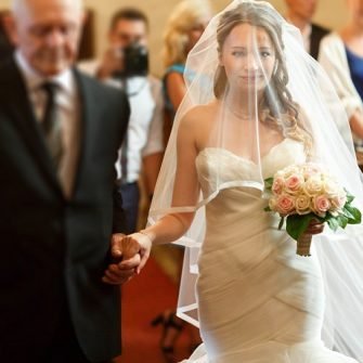 Only 6% of fathers pay for their daughter's wedding day