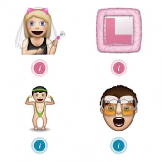 new wedding emojis
