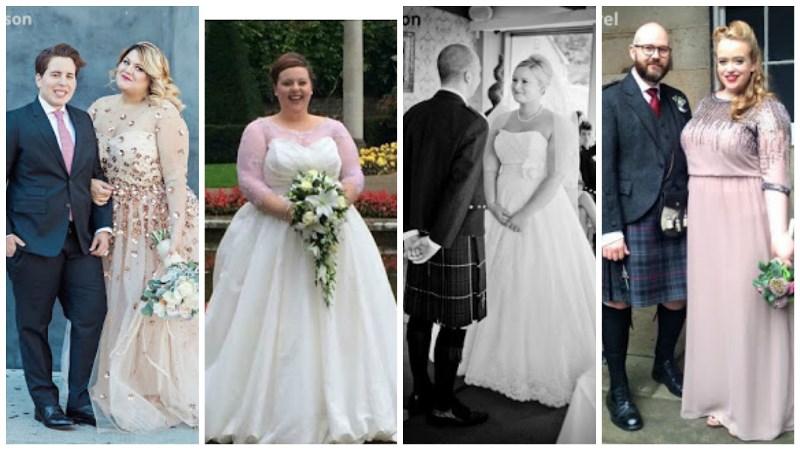 curvy bride blogger photo series