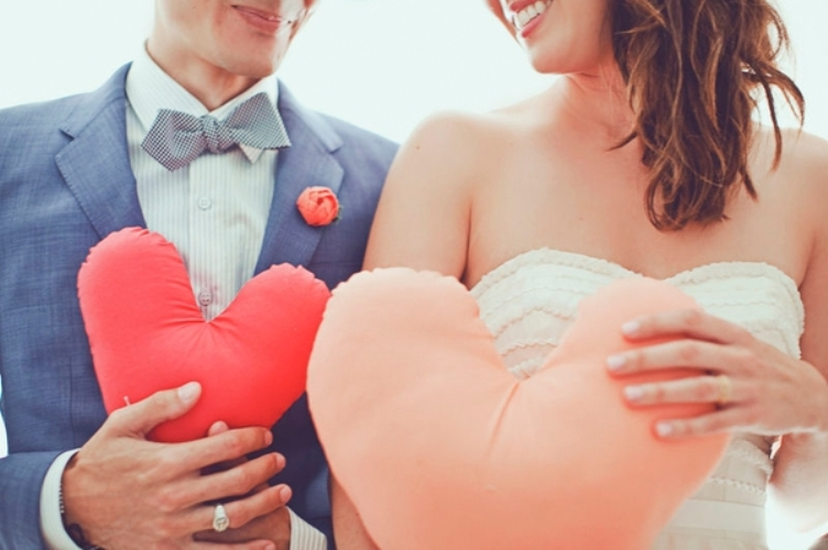 love themed valentines wedding