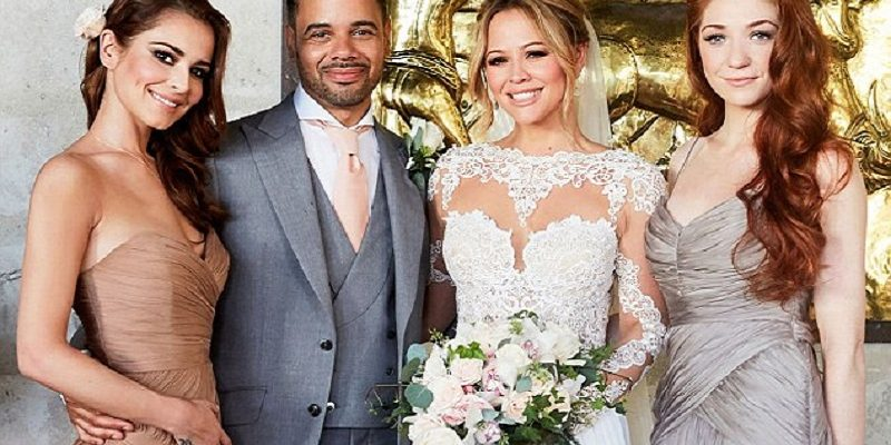 First photos of Kimberley Walsh's wedding dress