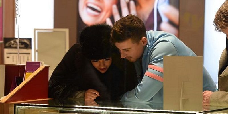 Celebrity Big Brother couple spark engagement rumours