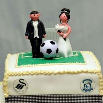 football fan gets surprise on wedding day