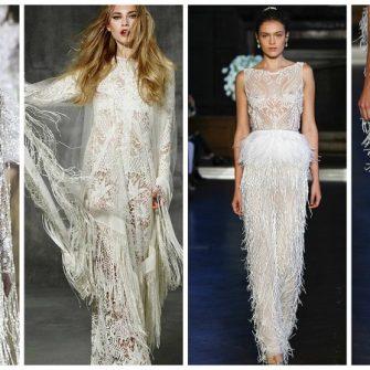 9627b9eff6 16 super stylish wedding dresses with fringe benefits