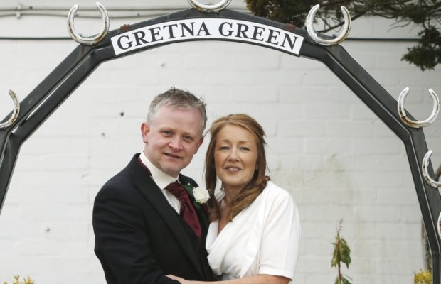 co down couple wed on leap day