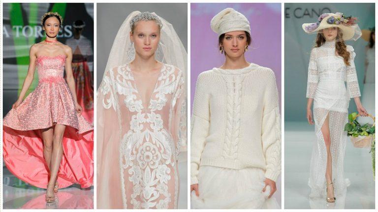 Barcelona Bridal week trends
