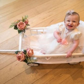 Wedding baby carriages 1