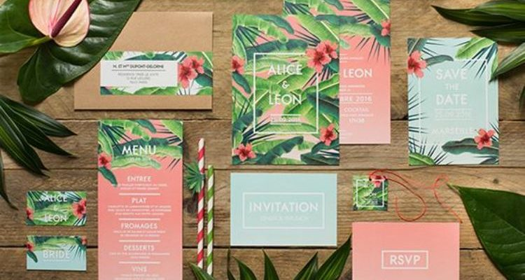 totally tropical wedding decor 2