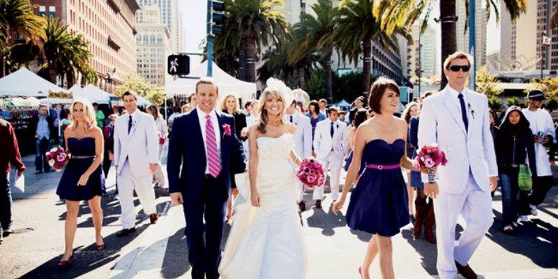 navy and fuschia wedding colour inspiration 6