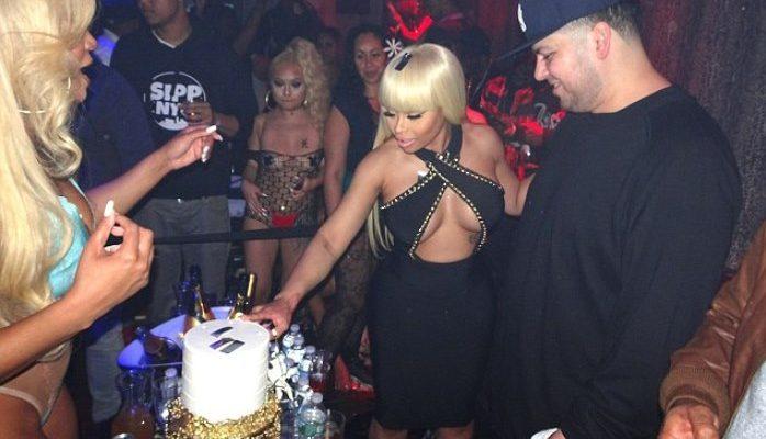 engagement party rob kardashian and blac chynna