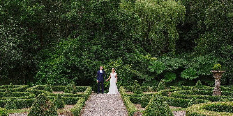 irish wedding venues with gardens Marfield House