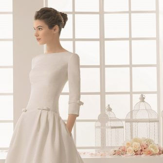 wedding dresses with high necks 9