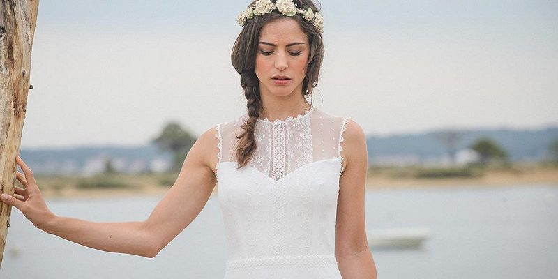 polka dot wedding dress 10